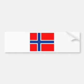Norway flag bumper stickers