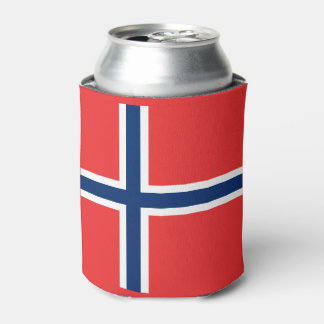 Norway Flag Can Cooler