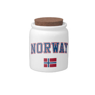 Norway + Flag Candy Dishes