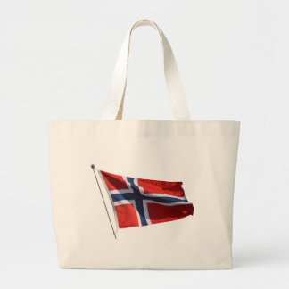 norway flag canvas bags