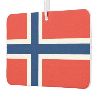 Norway Flag Car Air Freshener