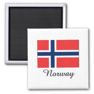 Norway Flag Design Refrigerator Magnets