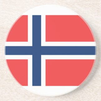 Norway Flag Drink Coaster