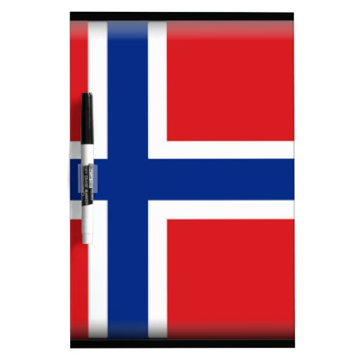 Norway Flag Dry-Erase Boards