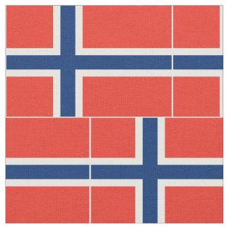 Norway Flag Fabric