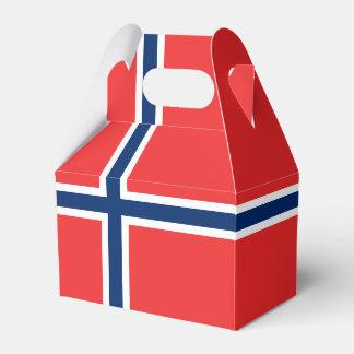 Norway Flag Favor Box