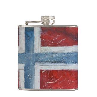Norway Flag Flask