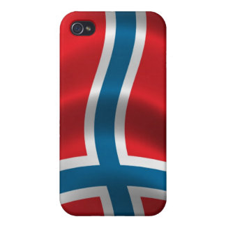 Norway Flag for iPhone 4 iPhone 4/4S Cover