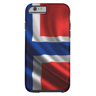 Norway Flag Full HD Tough iPhone 6 Case