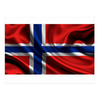 Norway Flag Full HD Postcard