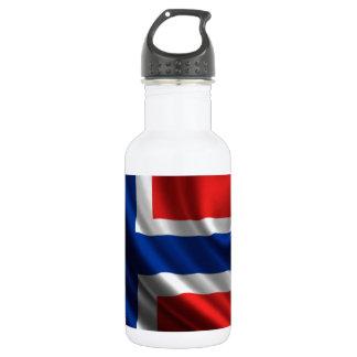 Norway Flag Full HD Stainless Steel Water Bottle