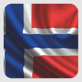 Norway Flag Full HD Stickers