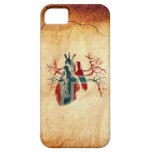 Norway Flag in Real heart iPhone 5 Covers