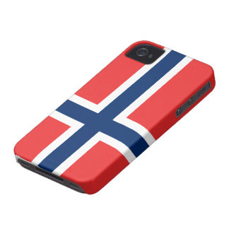 Norway Flag iPhone 4 Case-Mate Case