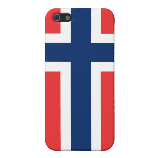 Norway Flag iPhone Case For iPhone SE/5/5s