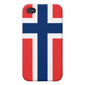 Norway Flag iPhone iPhone 4 Cases