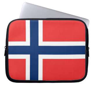 Norway Flag Laptop Sleeve