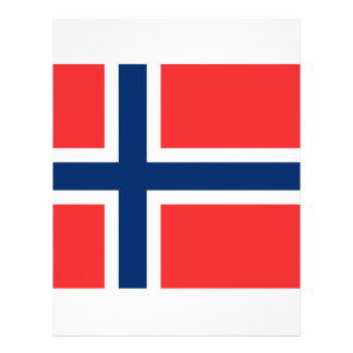 Norway Flag Letterhead