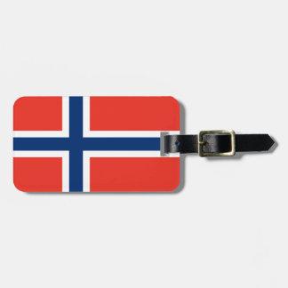Norway Flag Luggage Tag