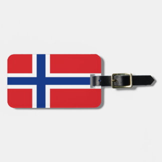 Norway Flag Travel Bag Tags