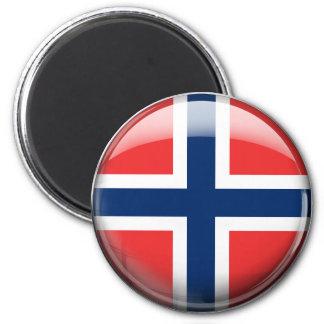 Norway Flag Fridge Magnets
