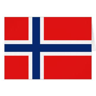 Norway Flag Notecard