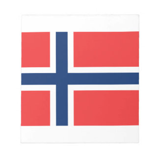 Norway Flag Notepad