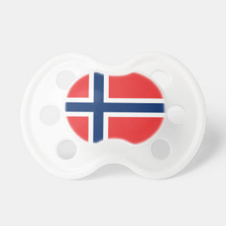 Norway Flag Pacifier