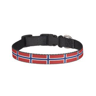 Norway Flag Pet Collar