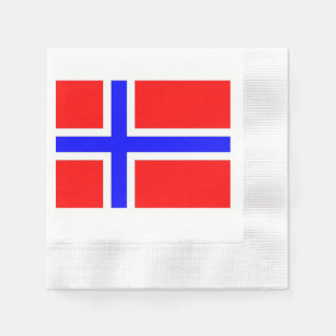Other Decorative Collectibles Dinner Napkins With Small Norwegian Flags Ideal Gift For All Occasions Latest Collection Of Norwegian Table Napkins