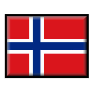 Norway Flag Post Cards