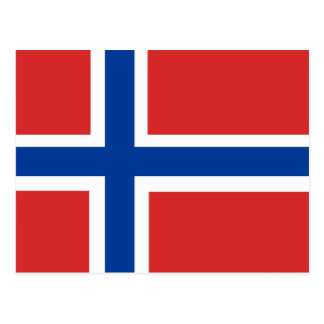 Norway Flag Postcards