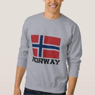 Norway Flag Pullover Sweatshirt