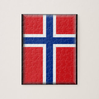 Norway Flag Jigsaw Puzzle