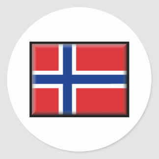 Norway Flag Stickers