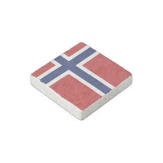 Norway Flag Stone Magnet