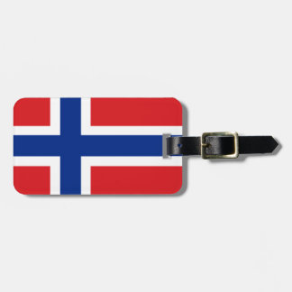 Norway Flag Tags For Bags