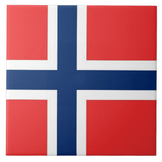 Norway Flag Tile