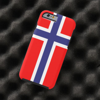 Norway flag tough iPhone 6 case