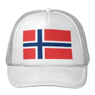 Norway, flag trucker hat
