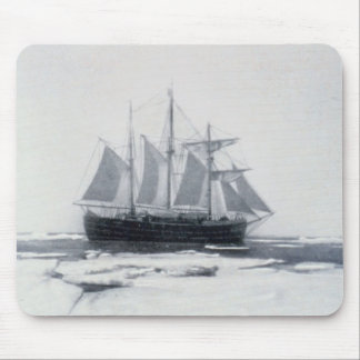 Norway, Fram in the polar ice Mouse Pad