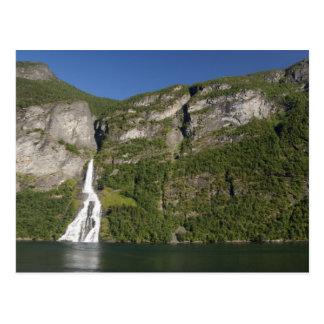 Norway, Geirangerfjord (UNESCO), Geiranger. Postcard