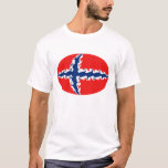 Norway Gnarly Flag T-Shirt