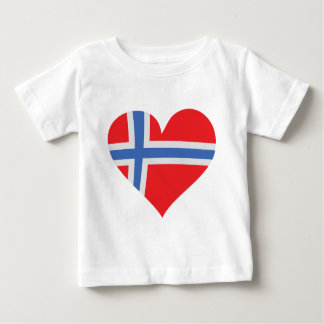norway heart icon baby T-Shirt
