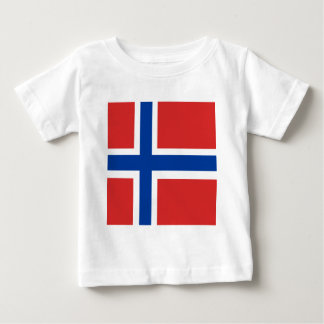 Norway High quality Flag Baby T-Shirt