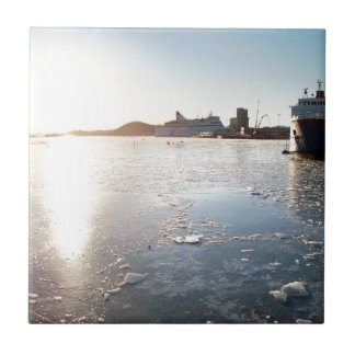 Norway Ice Ceramic Tile