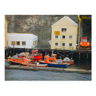 Norway, Inshore fishing boats Postcard