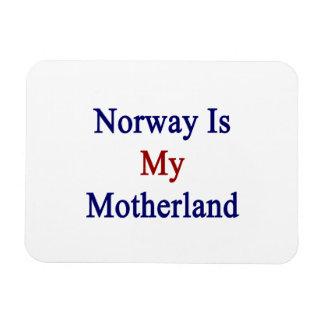 Norway Is My Motherland Rectangular Photo Magnet