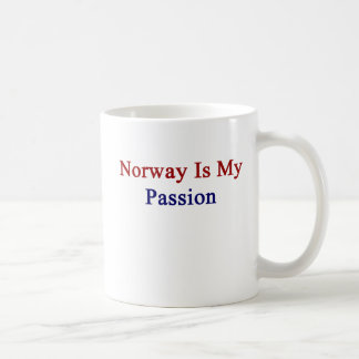 Norway Is My Passion Coffee Mug