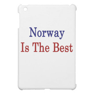 Norway Is The Best Cover For The iPad Mini
